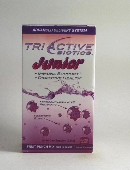 TriActive Biotics Junior by Essential Source - 19.8 grams - 30-60 day supply - Click Image to Close