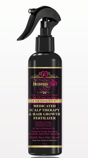 Heavenly Hart Scalp Therapy and Hair Growth Fertilizer - 8 Ounces - Click Image to Close