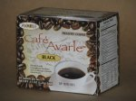 Cafe Avarle Black Healthy Coffee with Ganoderma & Cordyceps - 20 packs